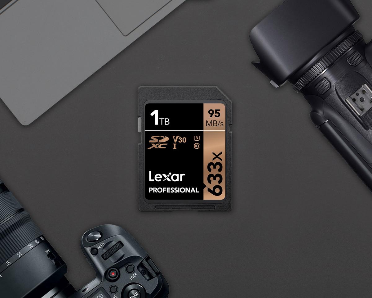 SD-карта Lexar на 1 Терабайт
