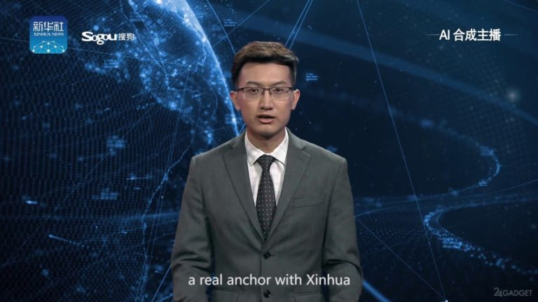 Китайское новостное агентство устроило на работу виртуального диктора