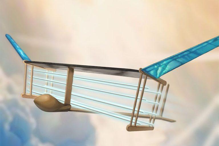 Инженеры представили модель самолета без движущихся частей