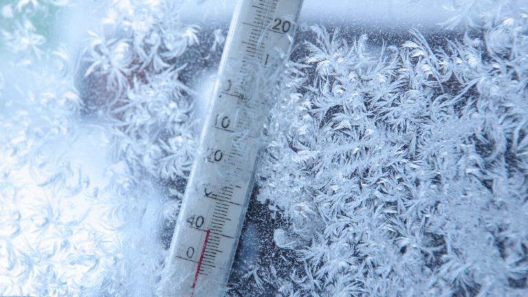 Зауралье накроют 40-градусные морозы
