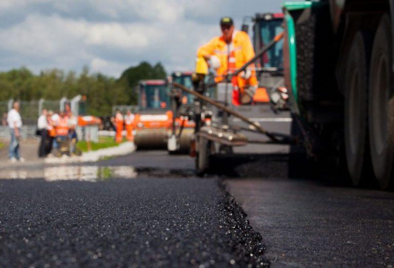 В Кургане ремонт улицы К. Мяготина проведен на 80%