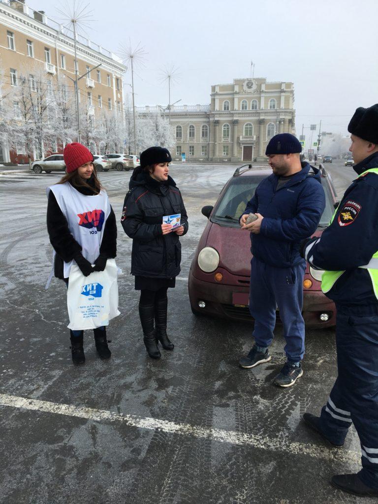 23 февраля на дорогах Кургана дежурил «Праздничный патруль»