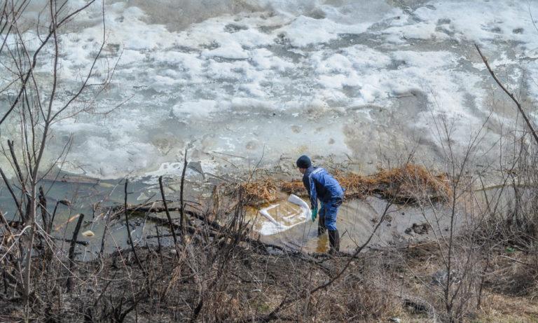 Загрязнение реки Тобол в районе Курганской сельхозакадемии зафиксировал «Водный Союз»