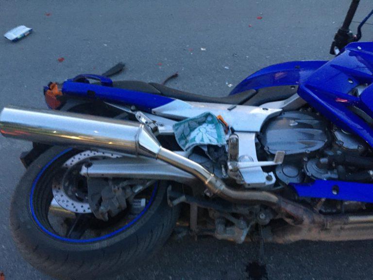 В Кургане за один день произошло два ДТП с участием четырех мотоциклистов
