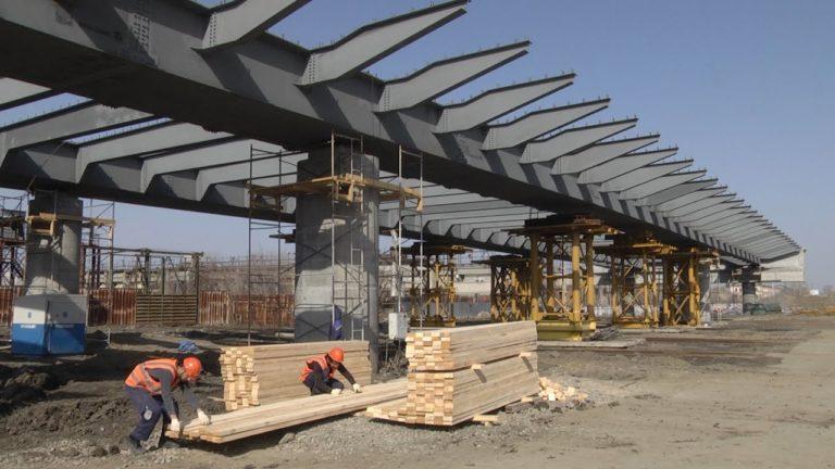 Работы на мосту ЖБИ в Кургане выполнены на 50%