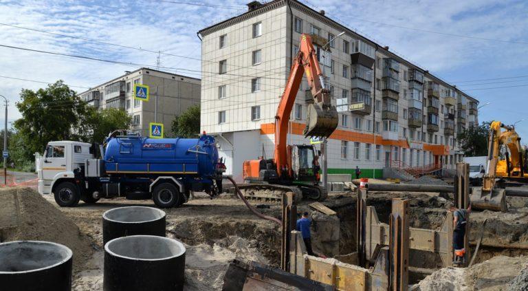 В Кургане приступают к ремонту коллектора от ул.Савельева до ул.Пролетарской