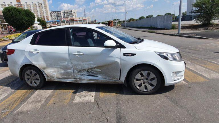 Неопытный водитель устроил ДТП в Кургане