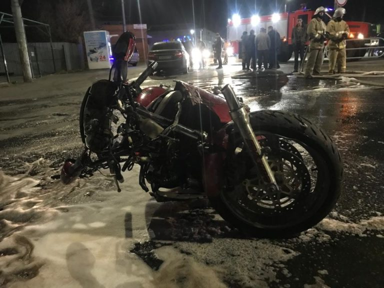 Пешеход и мотоциклист госпитализированы после двух ДТП в Кургане