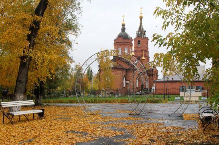 В Городском саду в Кургане установят бронзовый памятник Александру Невскому